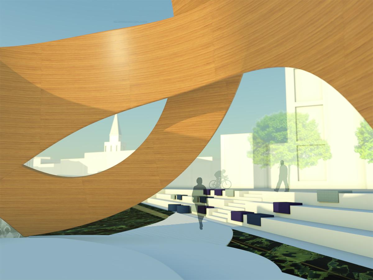 Klangwanderung szenografie interior design b a for Interior design studieren