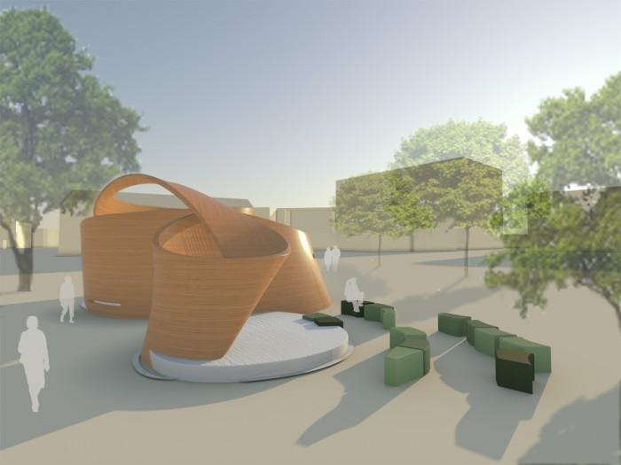 Pavillon Litauen_Außenansicht mit Umgebung copy